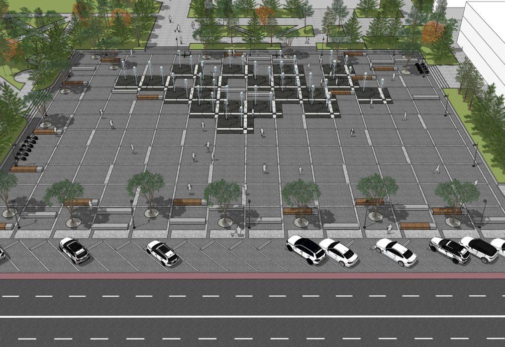 Reconstrucția și revitalizarea Centrului municipiului Ungheni